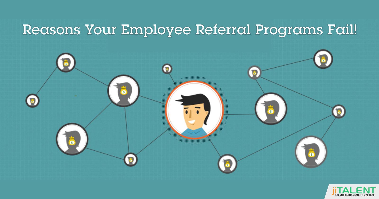 Why Employee Referral Programs Fail